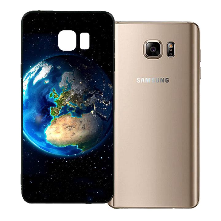 Ốp lưng viền TPU cho Samsung Galaxy Note 5 - Earth
