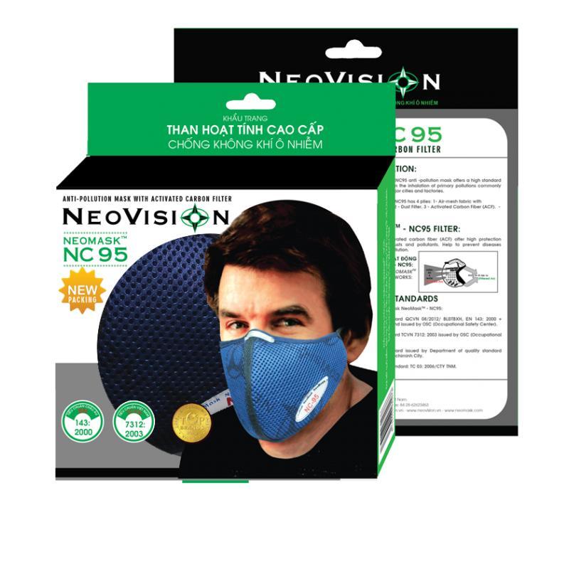 Khẩu Trang Than Hoạt Tính Neovision Neomask Nc95