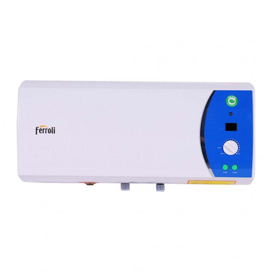 Bình nước nóng Ferroli Verdi AE  3 công suất, chống cặn, chống giật - Tặng đôi dây cấp nước