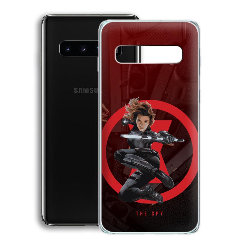 Ốp lưng cho điện thoại Samsung Galaxy S10 Plus - 01077 0538 SPY01 - Silicone dẻo - Hàng Chính Hãng