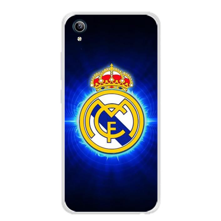 Ốp lưng dẻo cho điện thoại Vivo Y91C - 0308 CLBREALMADRID01 - Hàng Chính Hãng
