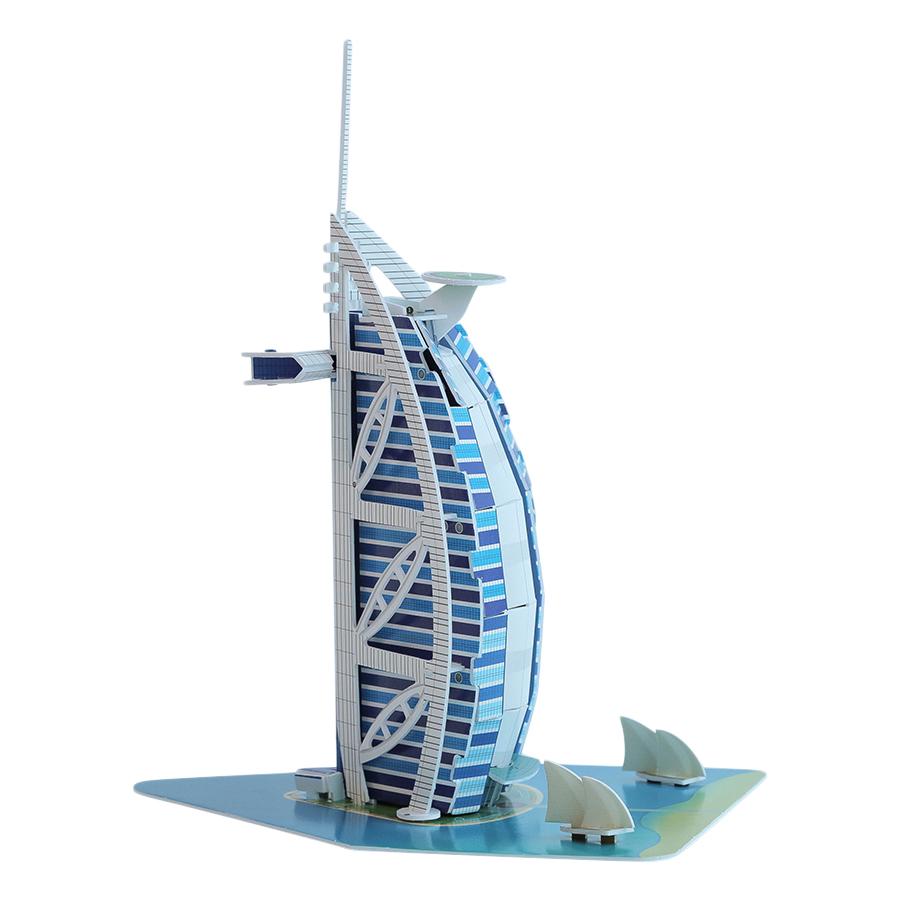 Big World Xếp Hình 3D_Tháp Burj Al Arab Dubai