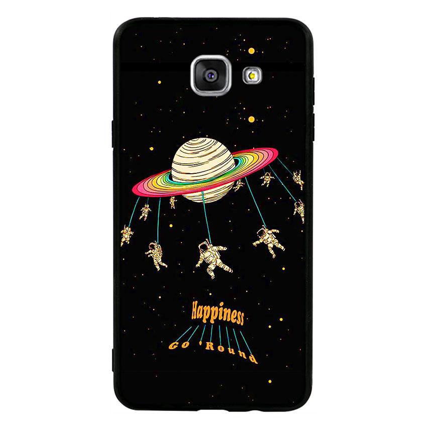 Ốp lưng viền TPU cho điện thoại Samsung Galaxy A7 2016 - Space 02