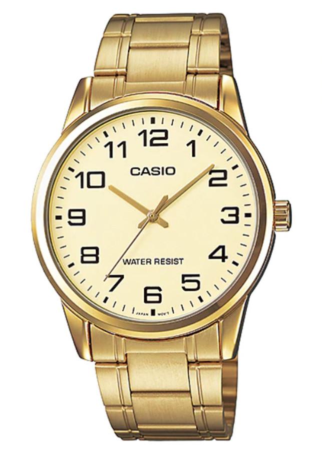 Đồng hồ nam dây kim loại Casio MTP-V001G-9BUDF