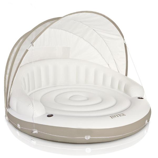 Phao bơi giường nằm có mái che INTEX 58292