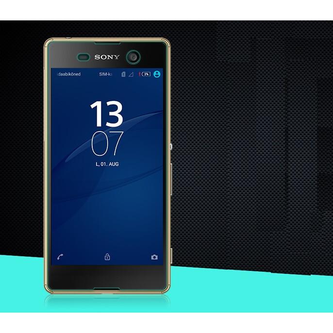 Tấm dán kính cường lực độ cứng 9H dành cho Sony M5 - KCL01