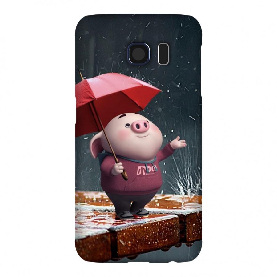 Ốp Lưng Cho Điện Thoại Samsung Galaxy S6 - Mẫu heocon 53