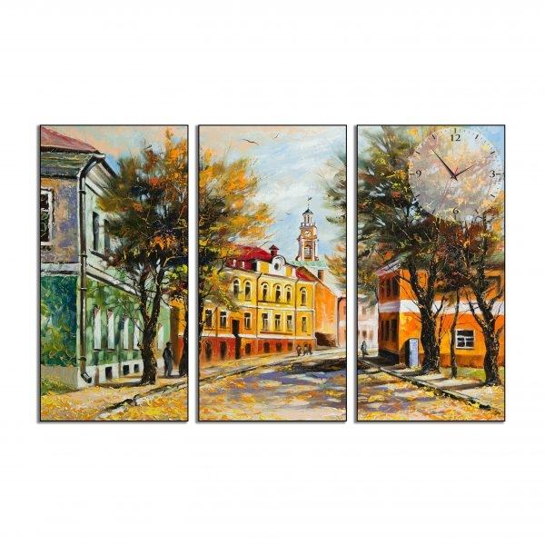 Tranh đồng hồ in Canvas Mùa thu Âu châu - 3 mảnh - 7074126 , 4719091644555 , 62_10354942 , 642500 , Tranh-dong-ho-in-Canvas-Mua-thu-Au-chau-3-manh-62_10354942 , tiki.vn , Tranh đồng hồ in Canvas Mùa thu Âu châu - 3 mảnh
