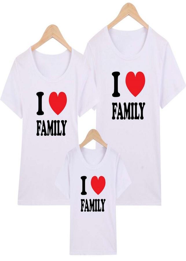 Áo gia đình trắng I love family  large - 2143420 , 9249102708426 , 62_13665763 , 300000 , Ao-gia-dinh-trang-I-love-family-large-62_13665763 , tiki.vn , Áo gia đình trắng I love family  large