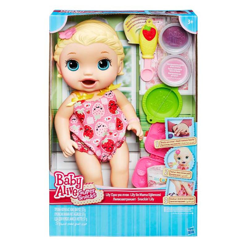 Đồ Chơi Bé Lily Tập Ăn Dặm Baby Alive C2697