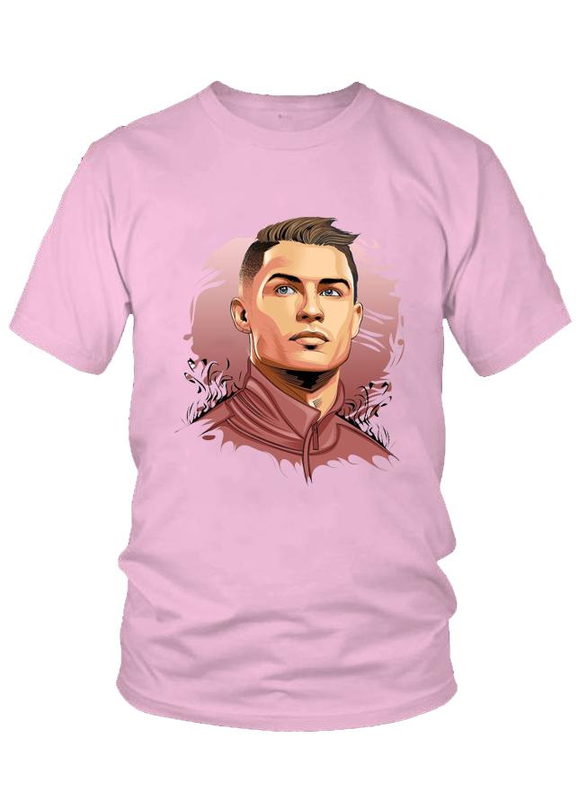 Áo thun nữ thời trang VinaBoss Cristiano Ronaldo Cr7 Mẫu 1
