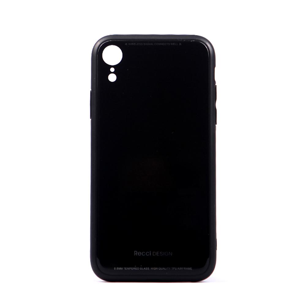"""Ốp Lưng Chống Xước Điện Thoại IPhone Xr Đen Recci (6.1"""")"""