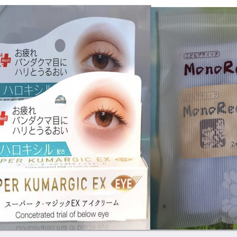 Combo Kem chống Thâm, Chống Nhăn, Chống Bọng Mắt SUPER KUMARGIC EX Nhật Bản tặng 1 khăn mặt sợi tre cao cấp Nhật Bản - 7298389 , 2286355253249 , 62_14904100 , 680000 , Combo-Kem-chong-Tham-Chong-Nhan-Chong-Bong-Mat-SUPER-KUMARGIC-EX-Nhat-Ban-tang-1-khan-mat-soi-tre-cao-cap-Nhat-Ban-62_14904100 , tiki.vn , Combo Kem chống Thâm, Chống Nhăn, Chống Bọng Mắt SUPER KUMARGI