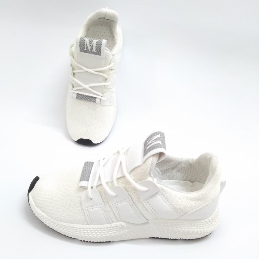 Giày Sneaker nữ chữ M trắng đế đen A2 - 830299 , 8985312624750 , 62_11669220 , 219000 , Giay-Sneaker-nu-chu-M-trang-de-den-A2-62_11669220 , tiki.vn , Giày Sneaker nữ chữ M trắng đế đen A2