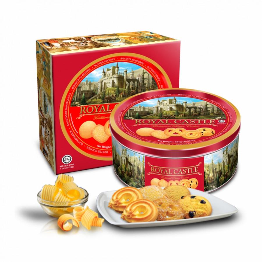 Bánh quy bơ Royal Castle (681g) - Hộp thiếc màu đỏ - 4600320 , 9232657212807 , 62_9814747 , 150000 , Banh-quy-bo-Royal-Castle-681g-Hop-thiec-mau-do-62_9814747 , tiki.vn , Bánh quy bơ Royal Castle (681g) - Hộp thiếc màu đỏ