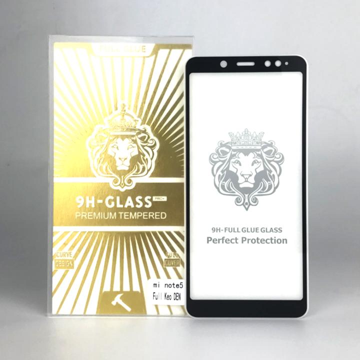 Kính Cường Lực 5D Full Màn Hình Dành Cho Xiaomi Redmi Note 5 - Màu Đen