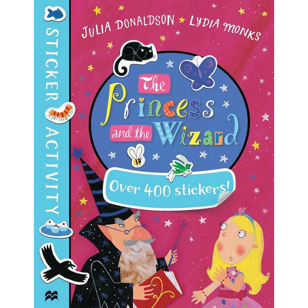 The Princess and the Wizard Sticker Book