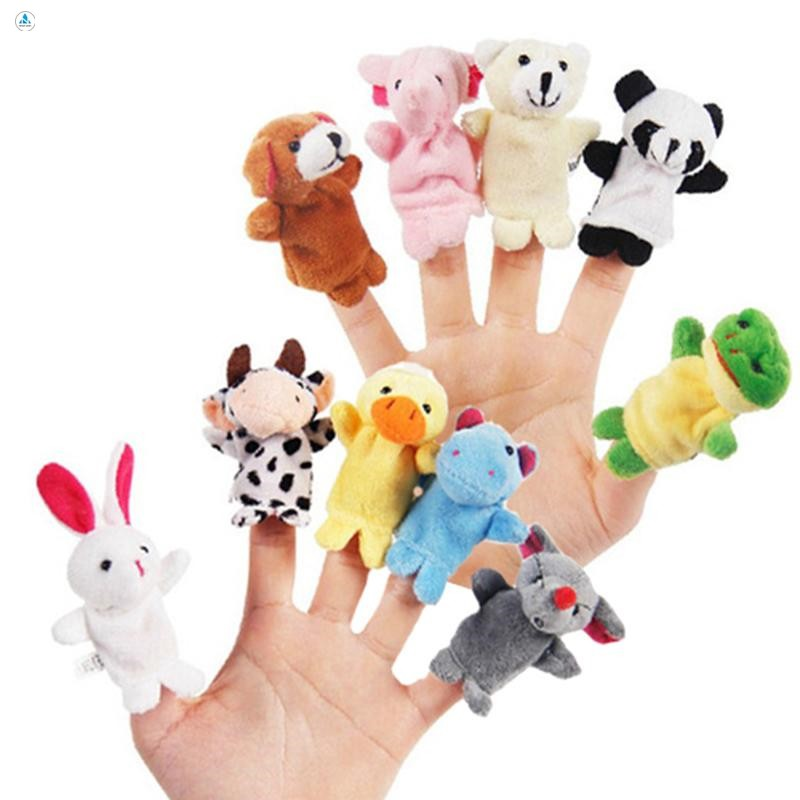 Bộ thú rồi 5 con xỏ ngón tay bằng vải