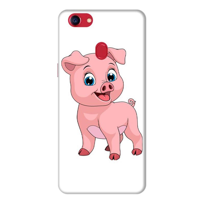 Ốp Lưng Dành Cho Điện Thoai Oppo F7 Pig Pig - Mẫu 3
