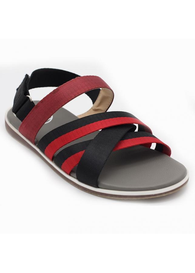Giày sandal 3 quai chéo nam thời trang Everest A445 đỏ