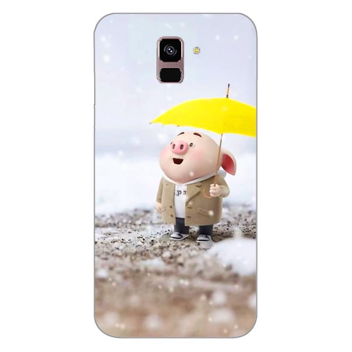 Ốp lưng dẻo cho điện thoại Samsung Galaxy A8 Plus 2018_0385 Pig 25 - Hàng Chính Hãng - 1895527 , 4513625819644 , 62_14522133 , 200000 , Op-lung-deo-cho-dien-thoai-Samsung-Galaxy-A8-Plus-2018_0385-Pig-25-Hang-Chinh-Hang-62_14522133 , tiki.vn , Ốp lưng dẻo cho điện thoại Samsung Galaxy A8 Plus 2018_0385 Pig 25 - Hàng Chính Hãng