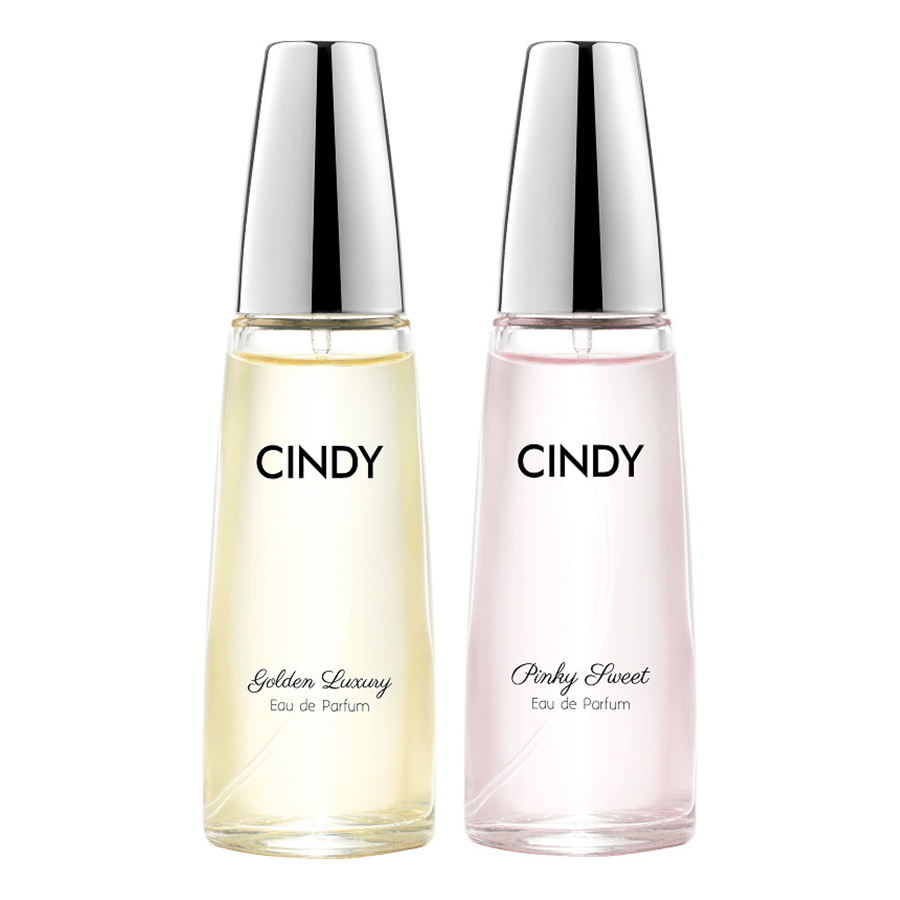 Bộ nước hoa Cindy 30ml (Golden Luxury + Pinky Sweet)