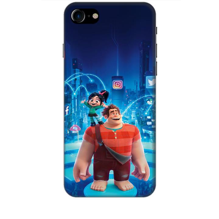 Ốp lưng dành cho điện thoại IPHONE 8 hình Big Hero Mẫu 01