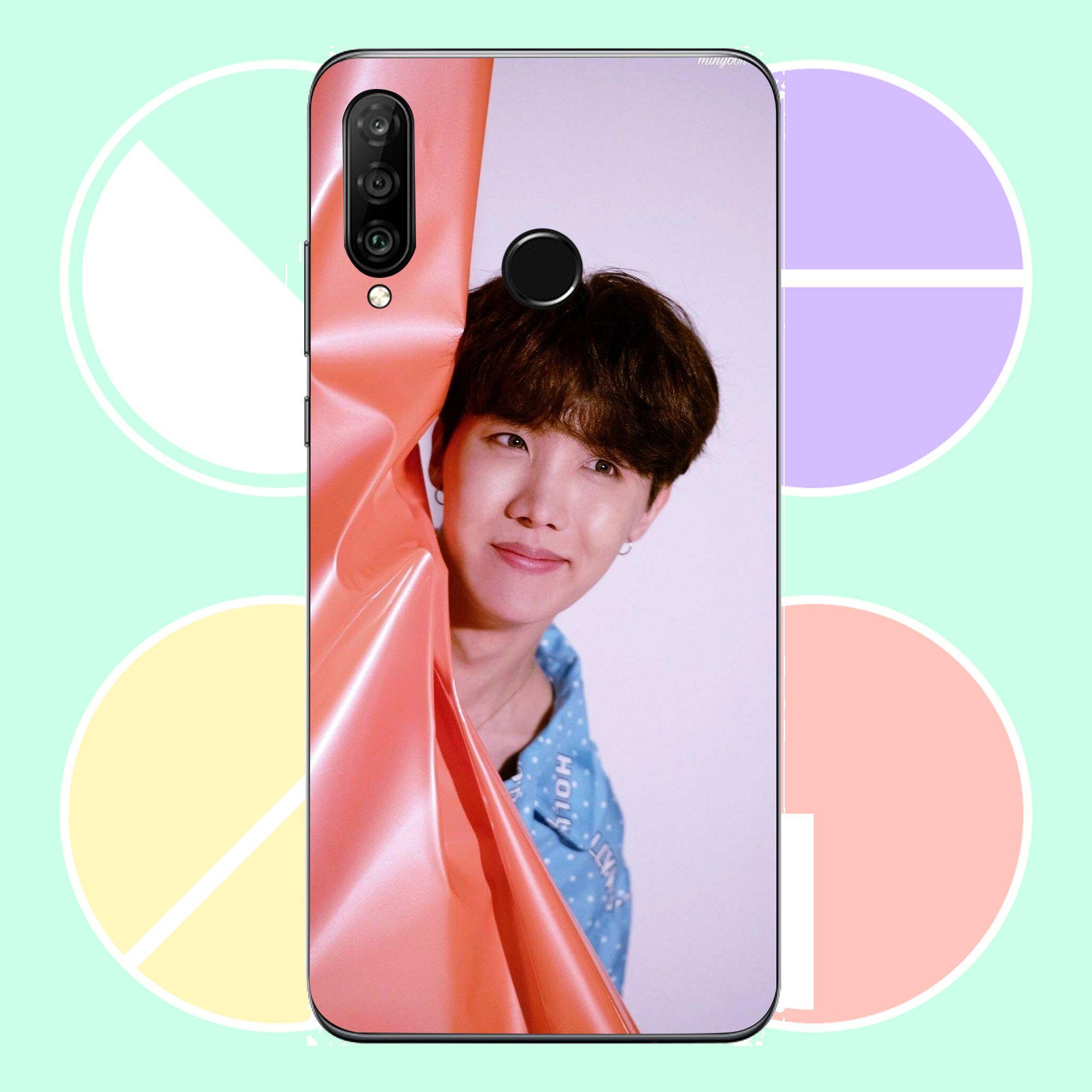 Ốp lưng cứng viền dẻo dành cho điện thoại Huawei Y3 2018 - bts MS BTSND1001-Hàng Chính Hãng Cao Cấp