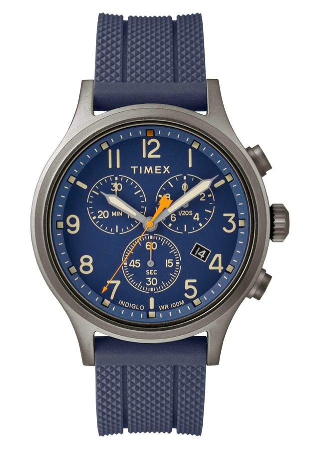 Đồng hồ Nam Timex Allied Chronograph Silicone Strap Watch - TW2R60300 (42mm) - 766352 , 9180712243214 , 62_9727873 , 4560000 , Dong-ho-Nam-Timex-Allied-Chronograph-Silicone-Strap-Watch-TW2R60300-42mm-62_9727873 , tiki.vn , Đồng hồ Nam Timex Allied Chronograph Silicone Strap Watch - TW2R60300 (42mm)