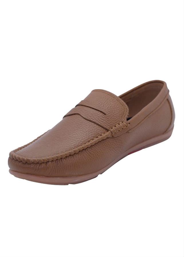 Giày Lười Nam Da Bò G179N - Nâu