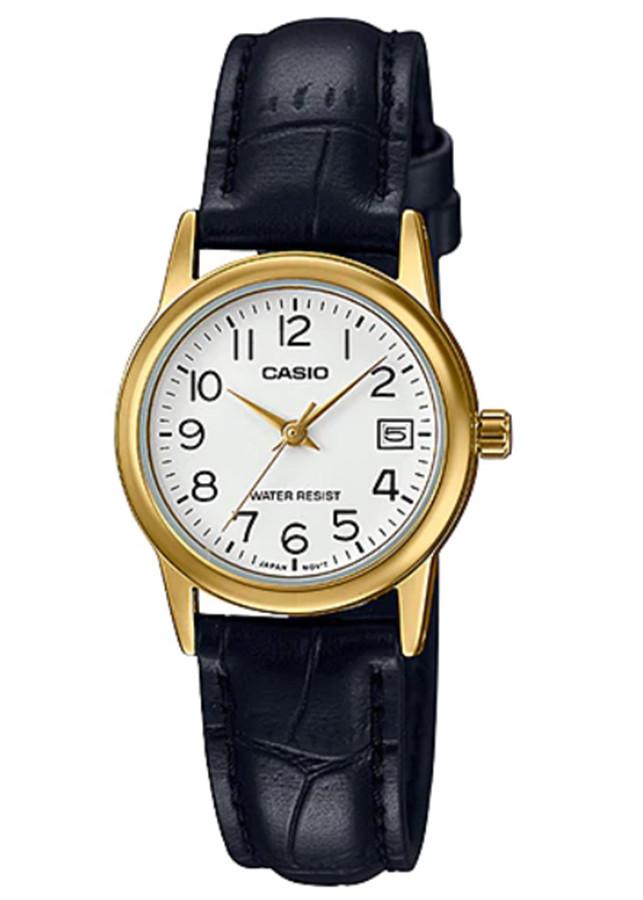 Đồng hồ nữ dây da Casio LTP-V002GL-7B2UDF