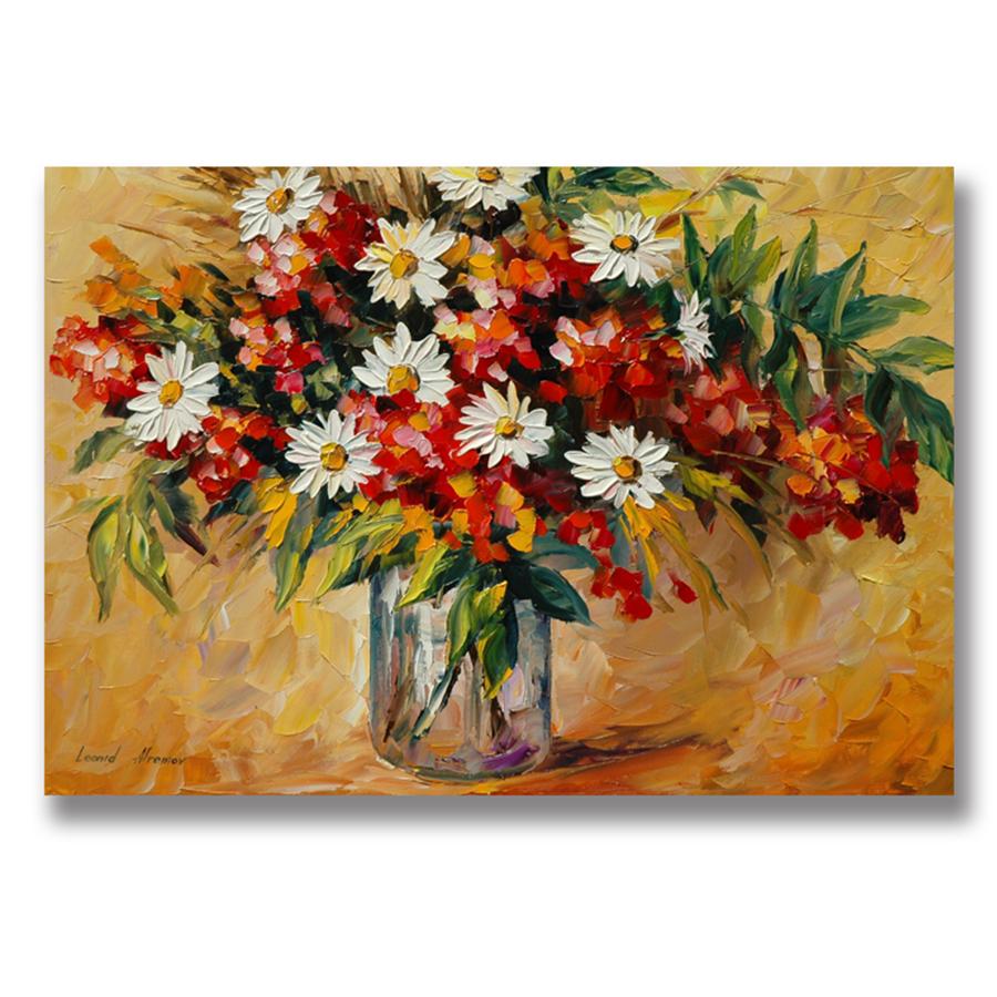 Tranh Canvas (60 x 90 cm) - Trang Trí Phòng Khách, Phòng Ngủ Tặng Kèm Đinh Treo Tranh Chuyên Dụng - Khung Hình Phạm Gia PG2