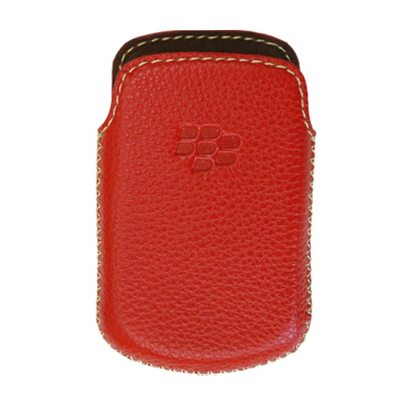 Bao Da Rút Dành Cho Blackberry bold 9900 màu đỏ