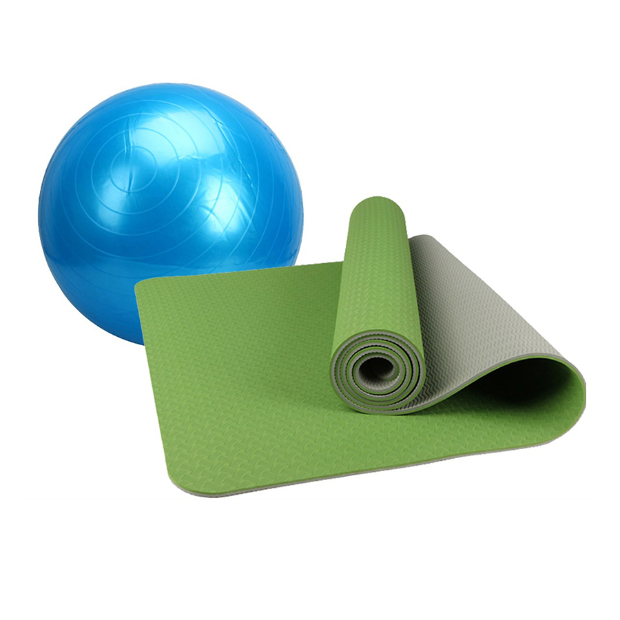 Combo Thảm tập yoga TPE 2 lớp 6mm + Bóng tập yoga da trơn (Tặng túi đựng thảm vs bơm bóng) - 1524376 , 6418168262590 , 62_2738013 , 650000 , Combo-Tham-tap-yoga-TPE-2-lop-6mm-Bong-tap-yoga-da-tron-Tang-tui-dung-tham-vs-bom-bong-62_2738013 , tiki.vn , Combo Thảm tập yoga TPE 2 lớp 6mm + Bóng tập yoga da trơn (Tặng túi đựng thảm vs bơm bóng)