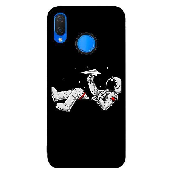 Ốp lưng dành cho điện thoại Huawei Nova 3i Vũ Trụ Nền Đen