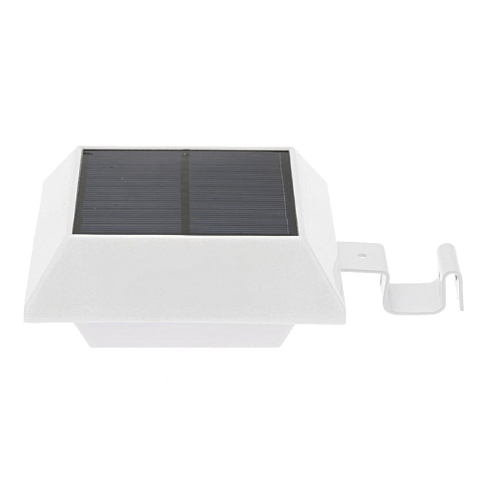 3W 6LED Solar Powered PIR Motion Sensor Wall Mount Lamp Security Outdoor Light Dusk to Dawn Auto On/Off with Bright/Dim