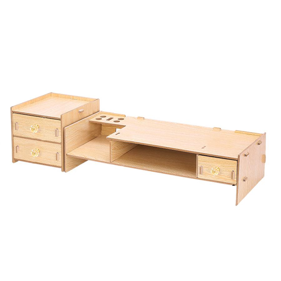 Kệ màn hình gỗ lắp ghép 2 tầng có ngăn tủ phụ - 1615023 , 7014663484032 , 62_11163699 , 649000 , Ke-man-hinh-go-lap-ghep-2-tang-co-ngan-tu-phu-62_11163699 , tiki.vn , Kệ màn hình gỗ lắp ghép 2 tầng có ngăn tủ phụ