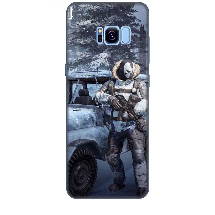 Ốp lưng dành cho điện thoại  SAMSUNG GALAXY S8 PLUS hình PUBG Mẫu 15