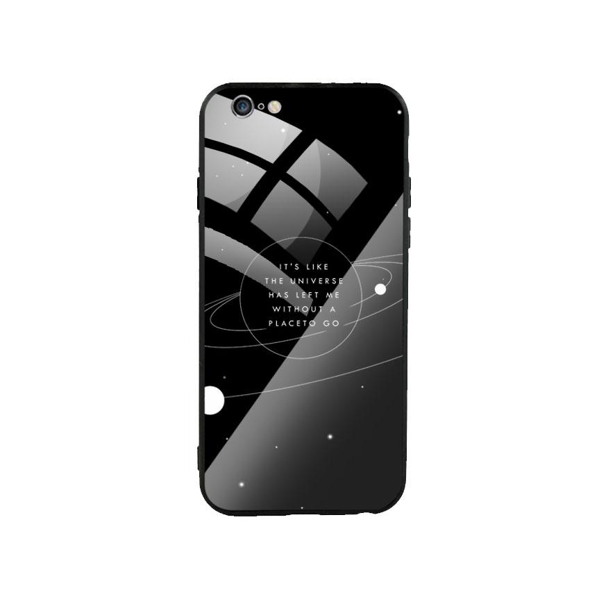 Ốp Lưng Kính Cường Lực cho điện thoại Iphone 6 Plus / 6s Plus - Alone 02