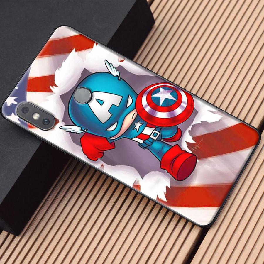 Ốp lưng dành cho Xiaomi Mi Mix 2S mẫu Anh hùng chibi