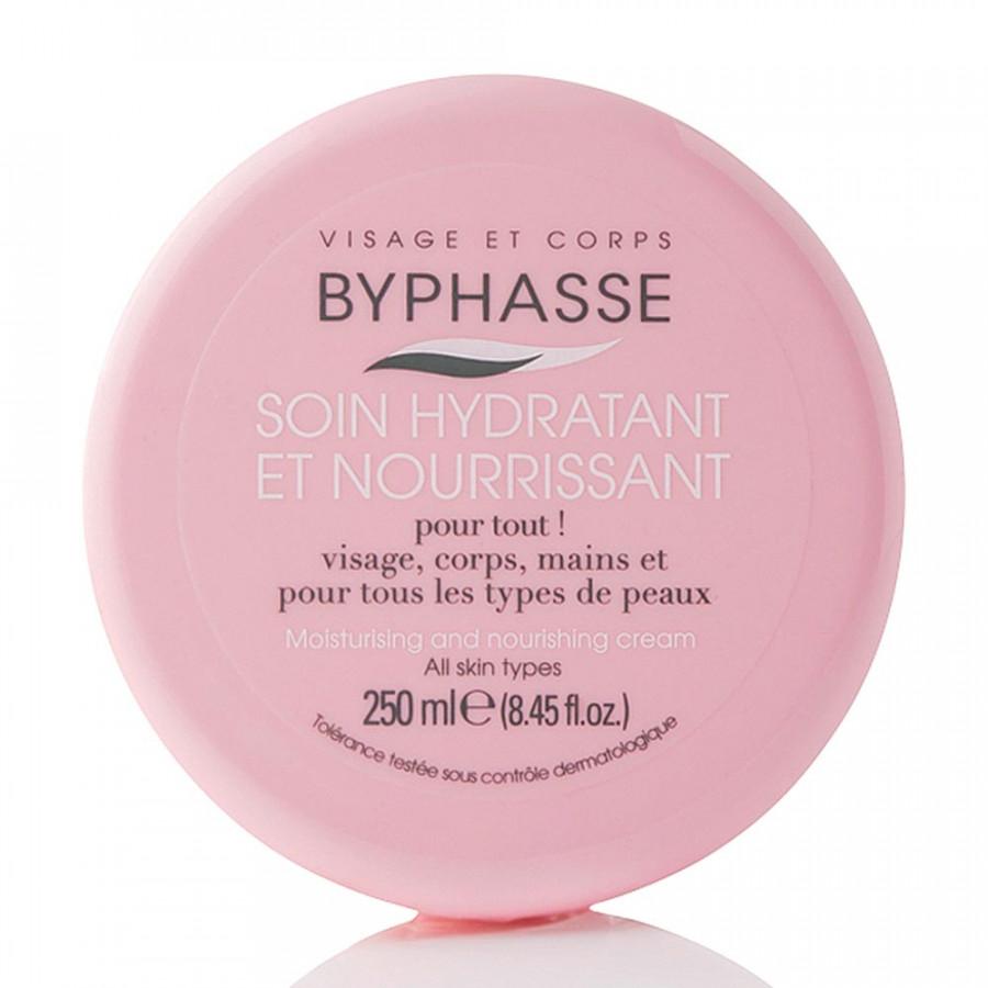Kem dưỡng ẩm và nuôi dưỡng da cho mặt và toàn thân #Byphasse 250ml