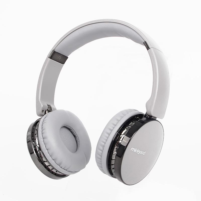 Tai nghe bluetooth chụp tai không dây MINIGOOD phong cách Hàn Quốc EM036 cao cấp