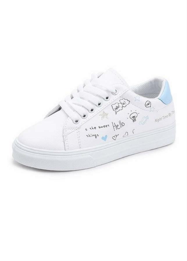 Giày Sneaker Nữ Yamet Y2-19TX - Trắng Phối Xanh - 1997623 , 5569063379942 , 62_4048479 , 211000 , Giay-Sneaker-Nu-Yamet-Y2-19TX-Trang-Phoi-Xanh-62_4048479 , tiki.vn , Giày Sneaker Nữ Yamet Y2-19TX - Trắng Phối Xanh