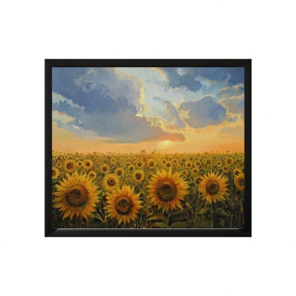 Tranh trang trí in Canvas Cánh đồng Hướng Dương