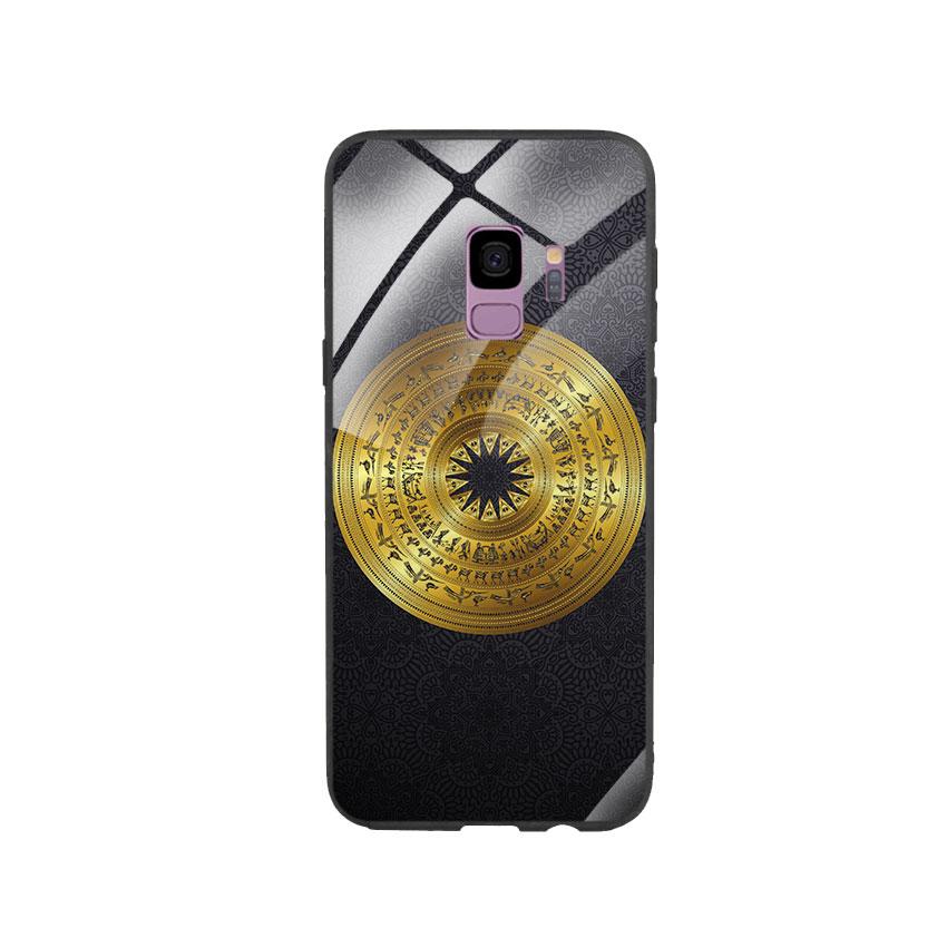 Ốp Lưng Kính Cường Lực cho điện thoại Samsung Galaxy S9 - Trống Đồng 05