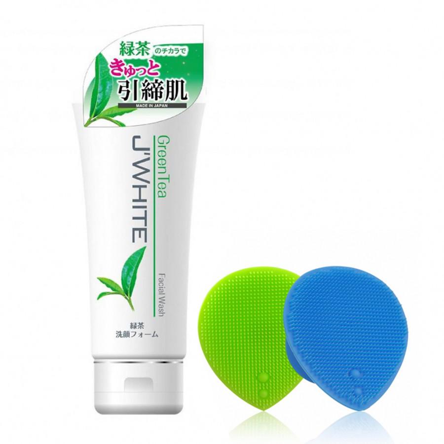 Combo Sữa rửa mặt trắng da cho da nhạy cảm cao cấp Nhật Bản Trà Xanh J'White (160ml) + Tặng Ngay Dụng Cụ Rửa và... - 4848691 , 6562503261332 , 62_16139719 , 850000 , Combo-Sua-rua-mat-trang-da-cho-da-nhay-cam-cao-cap-Nhat-Ban-Tra-Xanh-JWhite-160ml-Tang-Ngay-Dung-Cu-Rua-va...-62_16139719 , tiki.vn , Combo Sữa rửa mặt trắng da cho da nhạy cảm cao cấp Nhật Bản Trà Xan