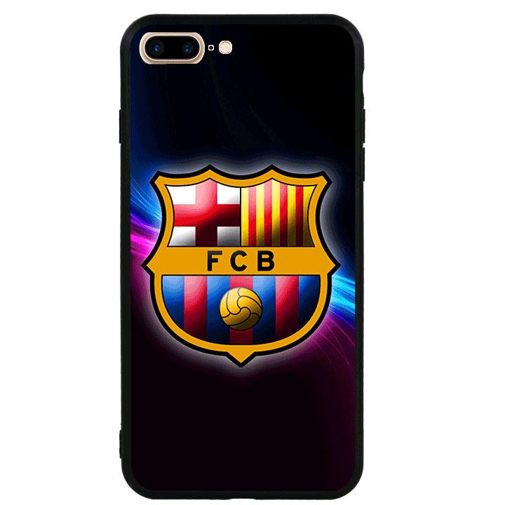 Ốp lưng viền TPU cao cấp cho Iphone 7 Plus - Clb Barcelona