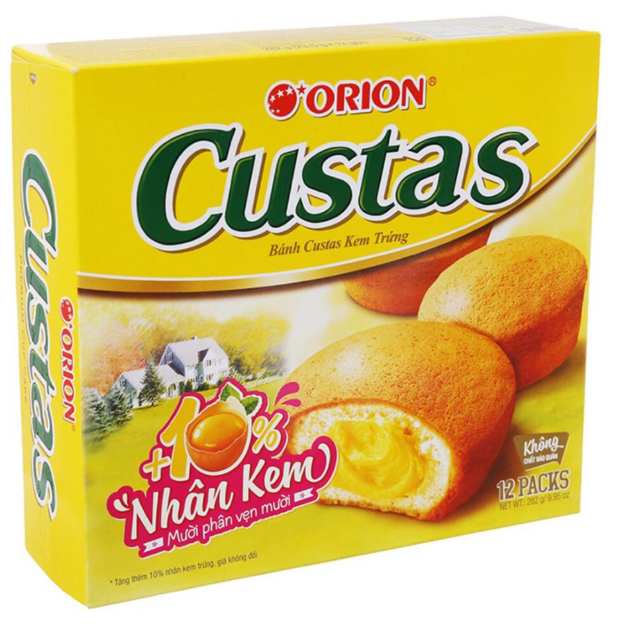 Bánh Orion Custas Nhân Kem Trứng 276g (12 Cái) - 1056141 , 8936036020137 , 62_3492301 , 65000 , Banh-Orion-Custas-Nhan-Kem-Trung-276g-12-Cai-62_3492301 , tiki.vn , Bánh Orion Custas Nhân Kem Trứng 276g (12 Cái)