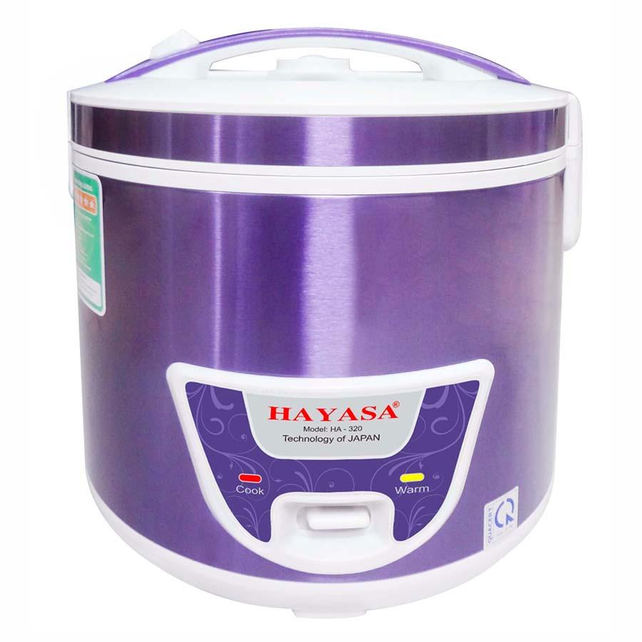 Nồi Cơm Điện Đa Năng Hayasa HA-1.8L (1.8L)