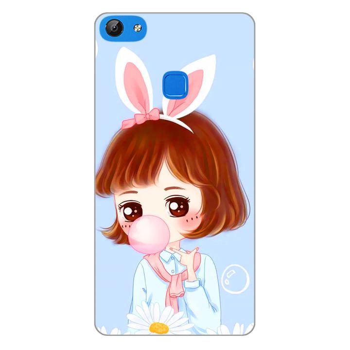 Ốp lưng dẻo cho điện thoại Vivo V7 - Baby Girl 03
